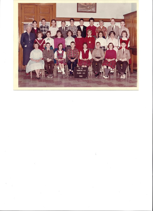 Ms. Stevenson's School 15 Class of 1960